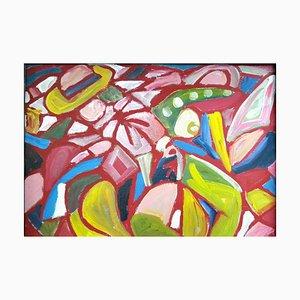 Abstract Painting, Miklos Nemeth, 1960s