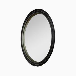 Mirror with Die-Cast Aluminium Frame by Lorenzo Burchiellaro for Atelier Burchiellaro, 1970s