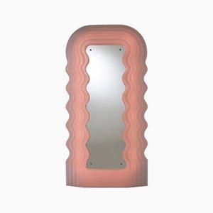 Ultrafragola Spiegel mit Lampe von Ettore Sottsass für Poltronova, 1970er