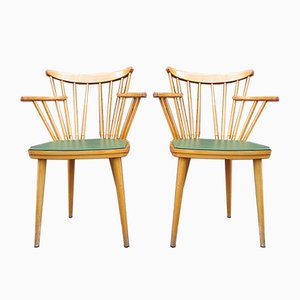 Rockabilly Dining Chairs, 1950s, Germany, Set of 2
