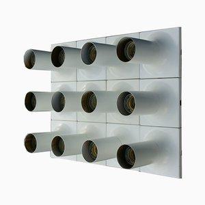 Applique tubolare Mid-Century di Rolf Krüger per Staff, set di 12