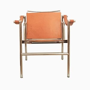Mid-Century LC 1 Armchair by Le Corbusier