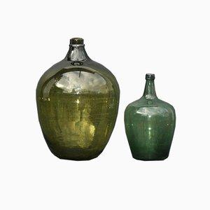 Green Forest Glass Demijohn
