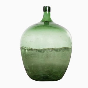 Large Vintage French Model 957.3 Glass Demijohn