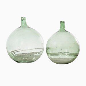 Französische Vintage Modell 957.4 Glas Demiglas, 1950er, 2er Set