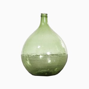Large Vintage French Model 957.6 Glass Demijohn, 1950s