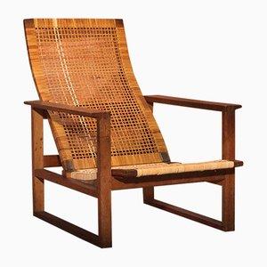 BM 2254 Sessel von Børge Mogensen für Fredericia, 1960er