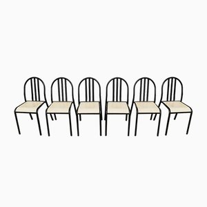 Stackable Steel Chairs by Robert Mallet Stevens, 1970s, Set of 6