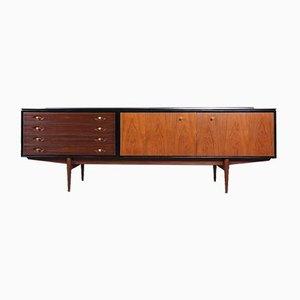 Hamilton Sideboard in Schwarz & Teak von Robert Heritage für Archie Shine, 1950er