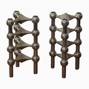 Modulare Kerzenständer von Nagel, 1970er, 8er Set