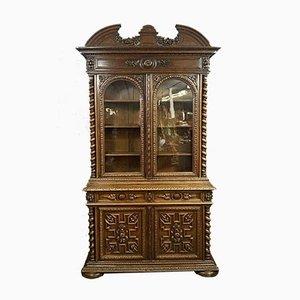Oak Cabinet, 1850s