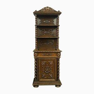 Mobiletto in quercia, metà XIX secolo