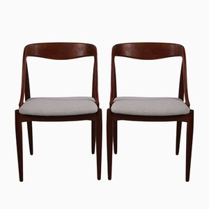 Dining Chairs by Edmund Jorgensen for Uldum Møbelfabrik, 1950s, Set of 2