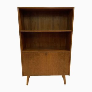 Scandinavian Teak Wall Unit / Bookcase, 1960s