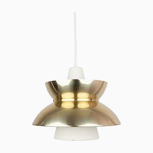 Danish Doo-Wop Ceiling Lamp by Henning Klok for Louis Poulsen, 1950s