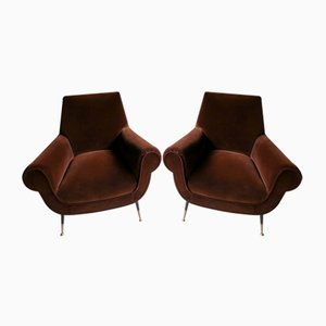 Lounge Chairs by Gigi Radice, 1950s, Set of 2