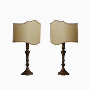 Lampade da tavolo, anni '40, set di 2