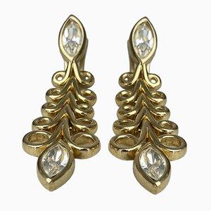 Boucles d'Oreilles Clip-on Vintage par Christian Dior