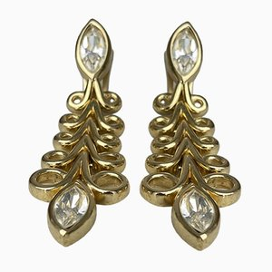Vintage Clip-on Earrings by Christian Dior