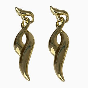Boucles d'Oreilles Clip-On Vintage par Givenchy, 1980s, Set de 2