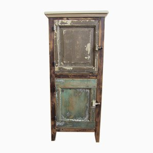 Distressed Rustic Cabinet