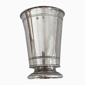 Silberne Vintage Tasse