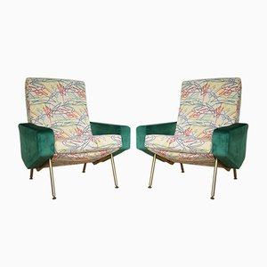 Troika Armchairs by Pierre Guariche for Airborne, 1958, Set of 2