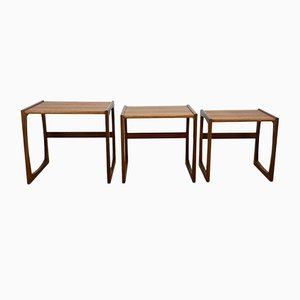 Nesting Tables by R Bennett for G Plan, 1960s, Set of 3