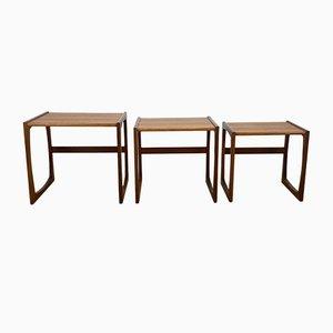 Tables Gigognes par R Bennett pour G Plan, 1960s, Set de 3