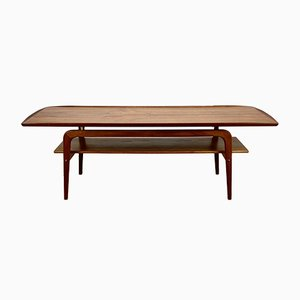 Danish Teak Coffee Table by Arne Hovmand Olsen for Toften, 1960s