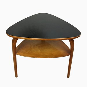 Mid-Century Pedestal Table by Hugues Steiner