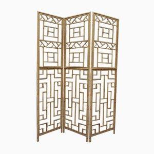 Bambus Wandschirm, 1960er