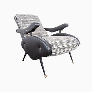 Oscar Reclining Lounge Chair by Ello Pini, 1970s