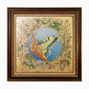 Noëlla Lammers, 1915-1990, Peinture à l'Huile sur Toile