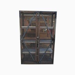 Système d'Étagère Industriel en Cage, 1950s