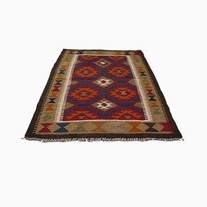 Small Middle Eastern Maimana Kilim Rug, 1970s
