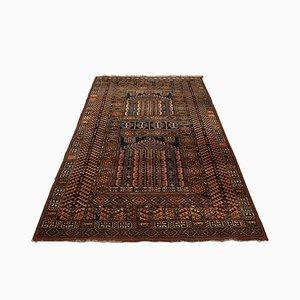 Large Belgian Ghiordes-Style Decorative Carpet, 1970s