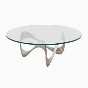 Mid-Century Snake Coffee Table by Knut Hesterberg for Ronald Schmitt
