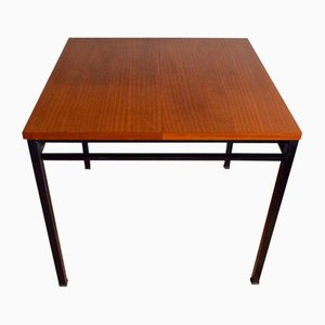Modernist Dining Table by Marcel Gascoin for Alvéole, 1950s