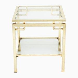 Brass Sofa Table / Side Table by Guy Lefevre for Maison Jansen, 1970s