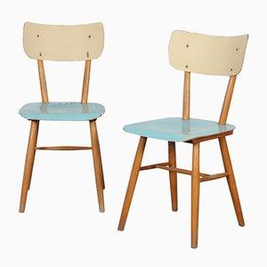 Tschechische Stühle von TON, 1960er, 2er Set