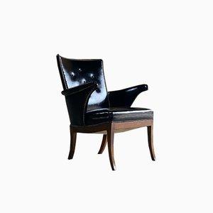Danish Lounge Armchair by Frits Henningsen, 1932