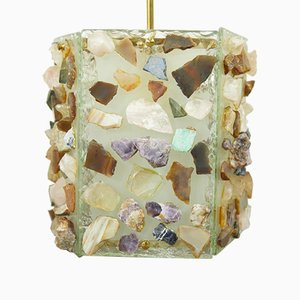 Deckenlampe von Fontana Arte, 1950er