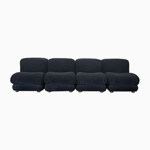 Unterteiltes Sofa, 1970er, 4er Set