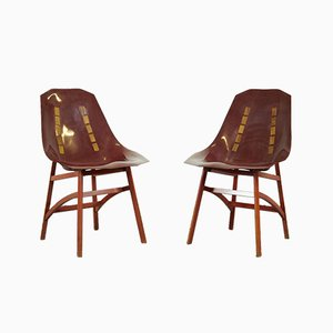 Prototype Stühle von Ico Luisa Parisi, 1960er, 2er Set