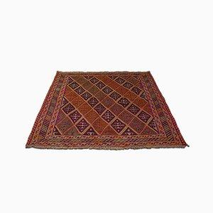 Antiker dekorativer orientalischer Gazak Teppich, ca. 1900