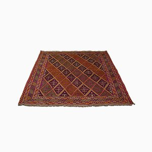 Antique Decorative Middle Eastern Gazak Rug, Circa 1900