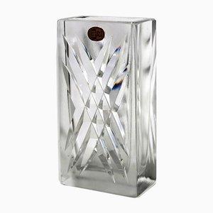 Blei Kristall Vase von CJ Riedel für Riedel, 1960er