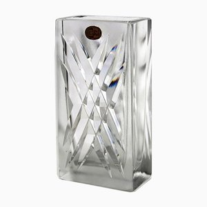 Lead Crystal Vase by C. J. Riedel for Riedel, 1960s