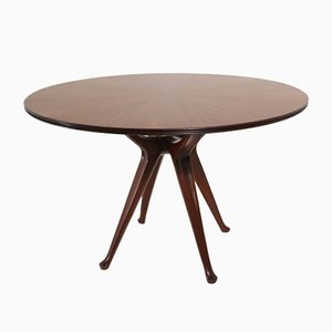 Round Dining Table by Osvaldo Borsani for Tecno, 1951